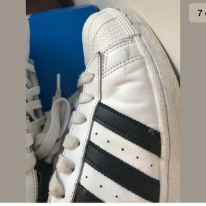 adidas Shoes - Adidas Superstar Classic White and Black